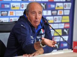 Gian Piero Ventura, c.t. della Nazionale. LaPresse