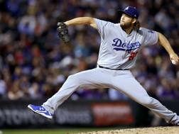 Clayton Kershaw, lanciatore dei Los Angeles Dodgers. Ap