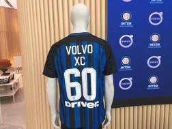 La maglia che rappresenta il legame tra l'Inter e Volvo Italia