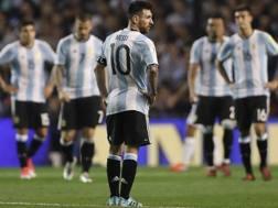 La delusione di Messi e compagni.