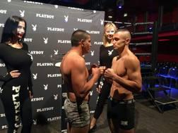 Maxim Prodan, 23 anni, a destra, sarà protagonista del match clou contro Janic