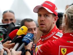 Sebastian Vettel domenica parte in prima fila. Reuters
