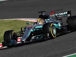 Per Lewis Hamilton Mondiale in discesa. Getty
