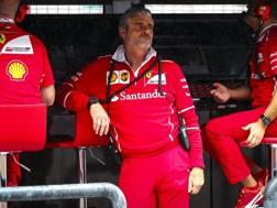Maurizio Arrivabene, team principal Ferrari. Epa