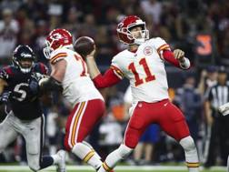 Alex Smith, 33 anni, QB dei Chiefs: tre touch down contro Houston