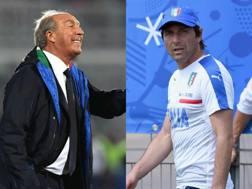 Gian Piero Ventura e Antonio Conte.