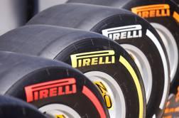 Le gomme Pirelli per la F.1 REUTERS