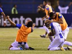 La gioia dell'Honduras: va agli spareggi. Afp