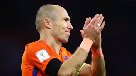 Arjen Robben, 33 anni, ieri ha lasciato la nazionale. Getty Images
