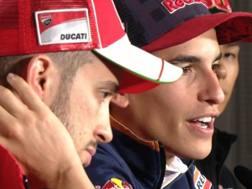 Dovizioso e Marquez pronto alla volata iridata