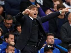 Antonio Conte, allenatore del Chelsea. Action Images
