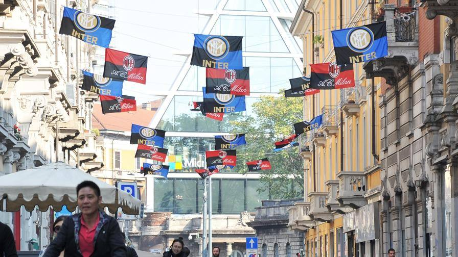 Inter-Milan a Chinatown Come essere in curva…