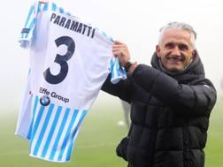 Michele Paramatti, 49 anni: con la Spal 151 presenze e 6 gol. Lapresse