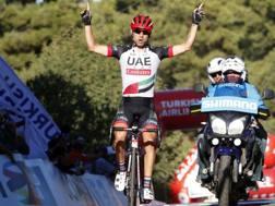 Diego Ulissi, in trionfo nella terza tappa del Turchia (Bettini)