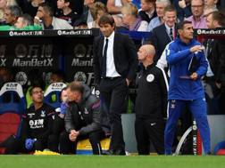 Conte perplesso a Selhurst Park. Action Images