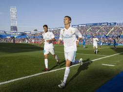 Ronaldo match-winner a Getafe. Epa