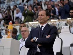 Massimiliano Allegri, 50 anni, tecnico della Juventus. Lapresse