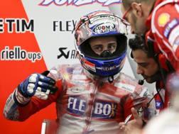 Andrea Dovizioso parte in terza fila a Motegi. Epa