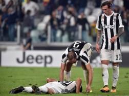 Dybala disperato dopo l'errore dal dischetto contro la Lazio.