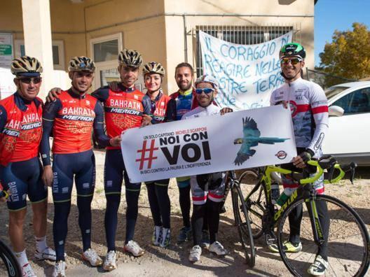 #Noiconvoi, per Michele In 500  alla cicloturistica