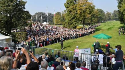 La folla al parco di Monza. Getty