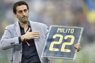 Diego Milito, all'Inter dal 2009 al 2014. LaPresse