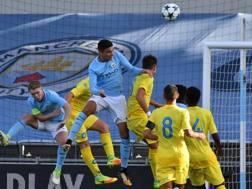 Uno scatto del match. Fonte: Twitter Napoli