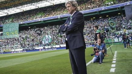 Jorge Jesus, allenatore dello Sporting Lisbona. Epa