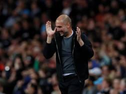 Pep Guardiola, allenatore del Manchester City. Action Images