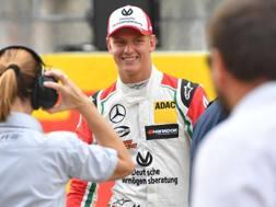 Mick Schumacher è 12° nell'Euro F3. Afp