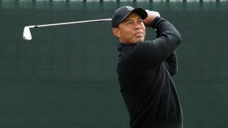 Tiger Woods. Action