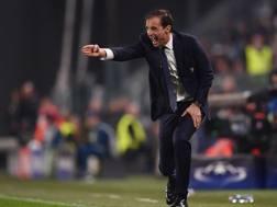 Massimiliano Allegri, tecnico della Juventus. Afp
