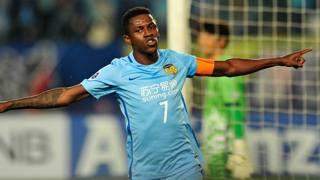 Ramires, 30enne centrocampista dello Jiangsu Suning. AFP