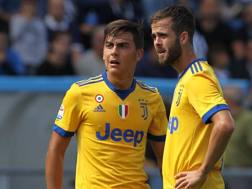 Paulo Dybala, 23 anni, e Miralem Pjanic, 27. Getty