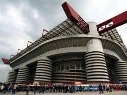 Lo stadio Meazza di Milano. Archivio Gazzetta