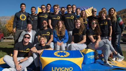 La Nazionale di nuoto in collegiale a Livigno