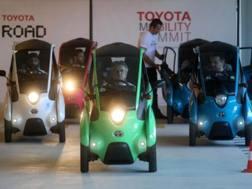 Una fase del Toyota Mobility Summit