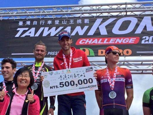 Assolo di Nibali in Asia nel Taiwan KOM Challenge