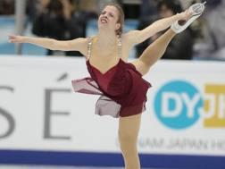 Carolina Kostner. Ap