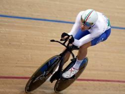 Filippo Ganna, campione del mondo 2016 dell'inseguimento. Reuters