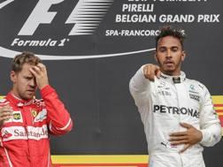 La gioia di Hamilton, la delusione di Vettel: ecco il mondiale 2017. Epa