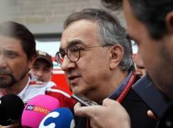 Il presidente della Ferrari Sergio Marchionne. Lapresse