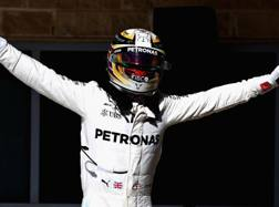 Lewis Hamilton trionfa ad Austin. Afp