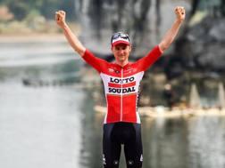 Tim Wellens, 26 anni, vincitore del Tour of Guangxi - AFP