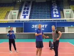 Marco Meoni, 44 anni, allo Zenit Kazan