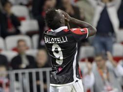 Mario Balotelli, 27 anni. Ap