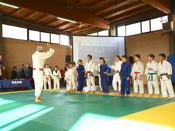 Il World Judo Day a Ostia: gli studenti incontrano il judo