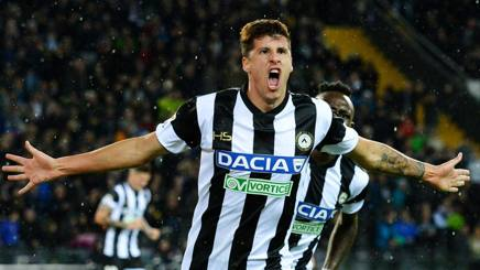 Stipe Perica, attaccante dell'Udinese. Getty