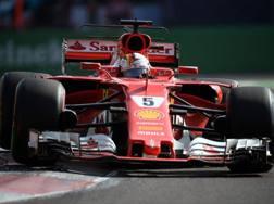 Sebastian Vettel, pole numero 50 in carriera. Afp