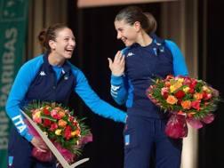 Loreta Gulotta e Rossella Gregorio sul podio. Sorrisoni azzurri a Orleans!